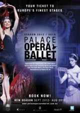 Poster for Palace Opera & Ballet 2012-2013 season