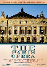 Poster for Paris Opera and Ballet Season 2012-2013