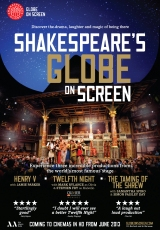 Poster for Shakespeare's Globe On Screen 2013