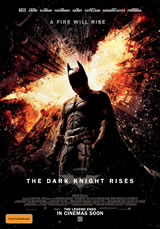 Poster for THE DARK KNIGHT RISES - Trilogy Marathon Opening Event