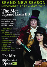 Poster for The New York Metropolitan Opera 2012-2013 Season