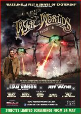Poster for The War of The Worlds: Alive on Stage!