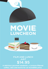 Poster for Movie luncheons