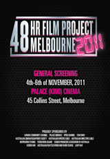 Poster for 48 Hour Film Project