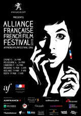 Poster for Alliance Française French Film Festival 2013