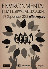 Poster for Environmental Film Festival 2012