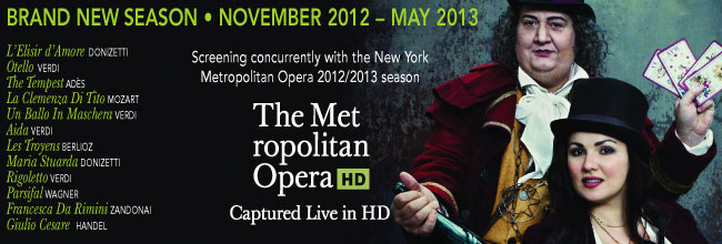 Now On Sale! The new season of the New York Metropolitan Opera 2012-2013