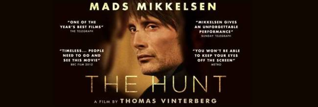 THE HUNT [MA15+] Mads Mikkelsen's award winning performance. NOW SHOWING at Como, Kino, Brighton Bay