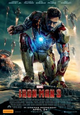 Poster for Iron Man 3 (M)