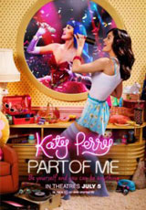 Poster for Katy Perry: Part of Me 3D (PG)
