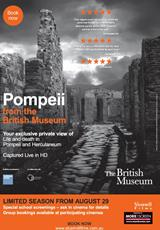 Poster for Pompeii - Captured Live in HD (CTC)