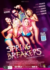 Poster for Spring Breakers (R18+)