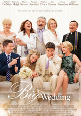 Poster for The Big Wedding (MA15+)