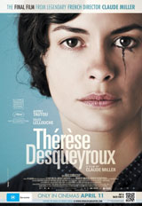 Poster for Therese Desqueyroux (M)