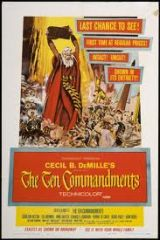 Poster for Vintage Electric: The Ten Commandments (1956) (PG)