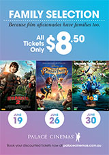 Poster for Family Ticket Offer