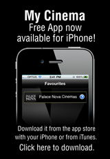 Poster for Avoid the Queue! MY CINEMA Free iPhone App